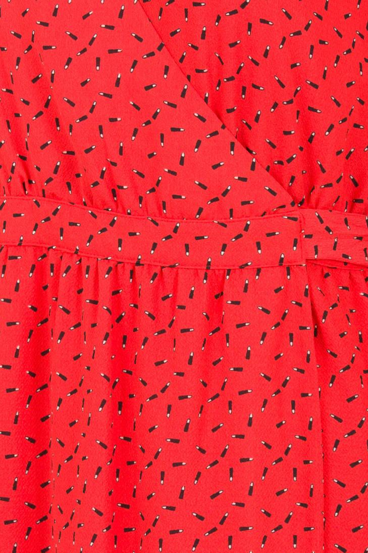allover rood print Steps wikkeljurk met wRqEI6Y