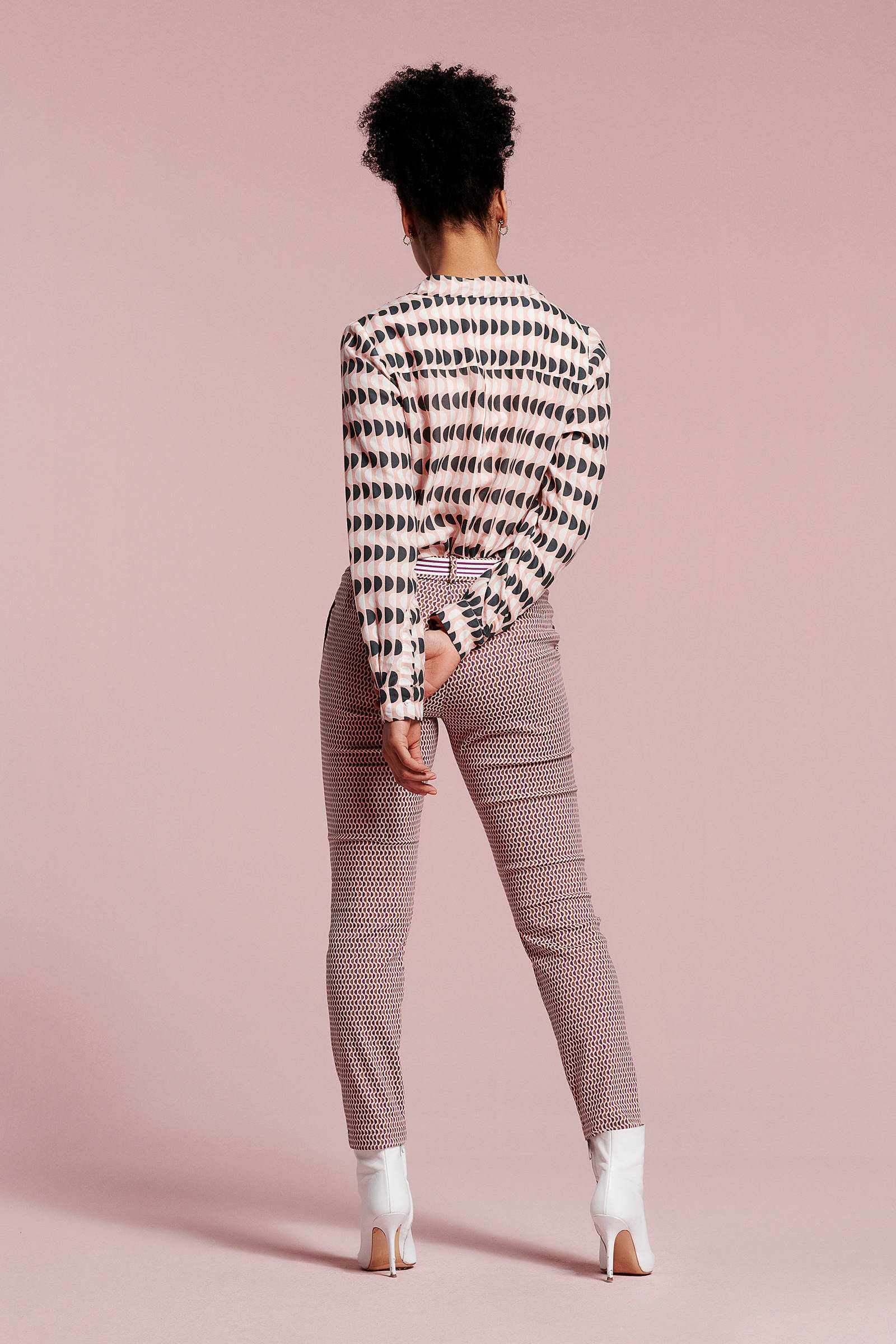 Didi patroon stip met Didi blouse blouse HvWqBfHSr