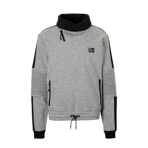 C&A Angelo Litrico gemêleerde sweater grijs