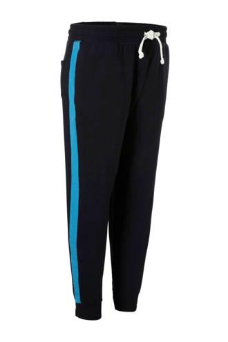 XL Angelo Litrico sweatpants met zijstrepen marine