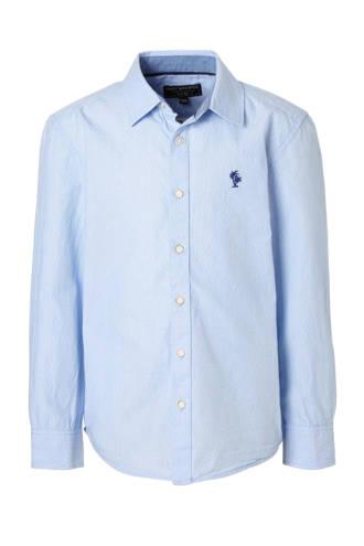 Here & There overhemd met print blauw