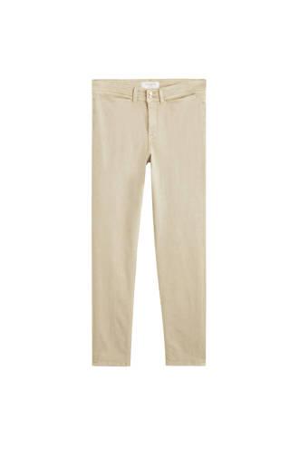 skinny fit jeans beige