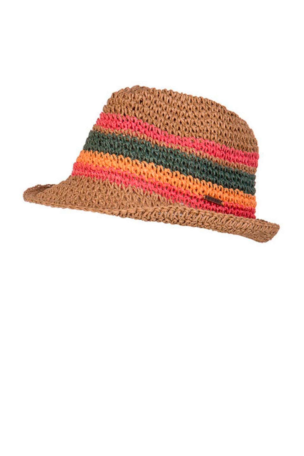 Protest hoed Sandy  bruin, Bruin