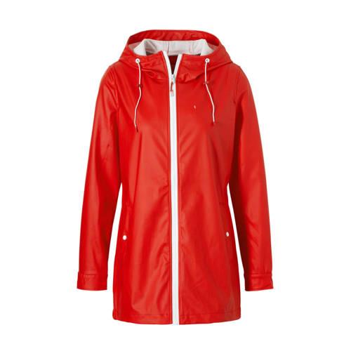 ONLY regenjas rood kopen