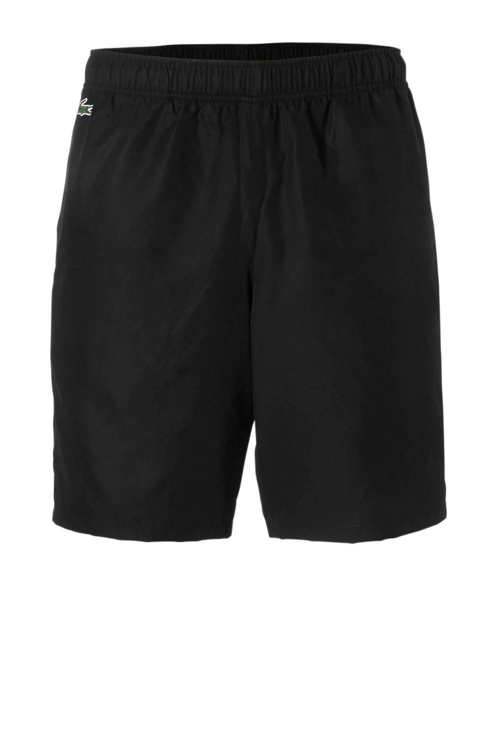 Lacoste   short zwart, Zwart