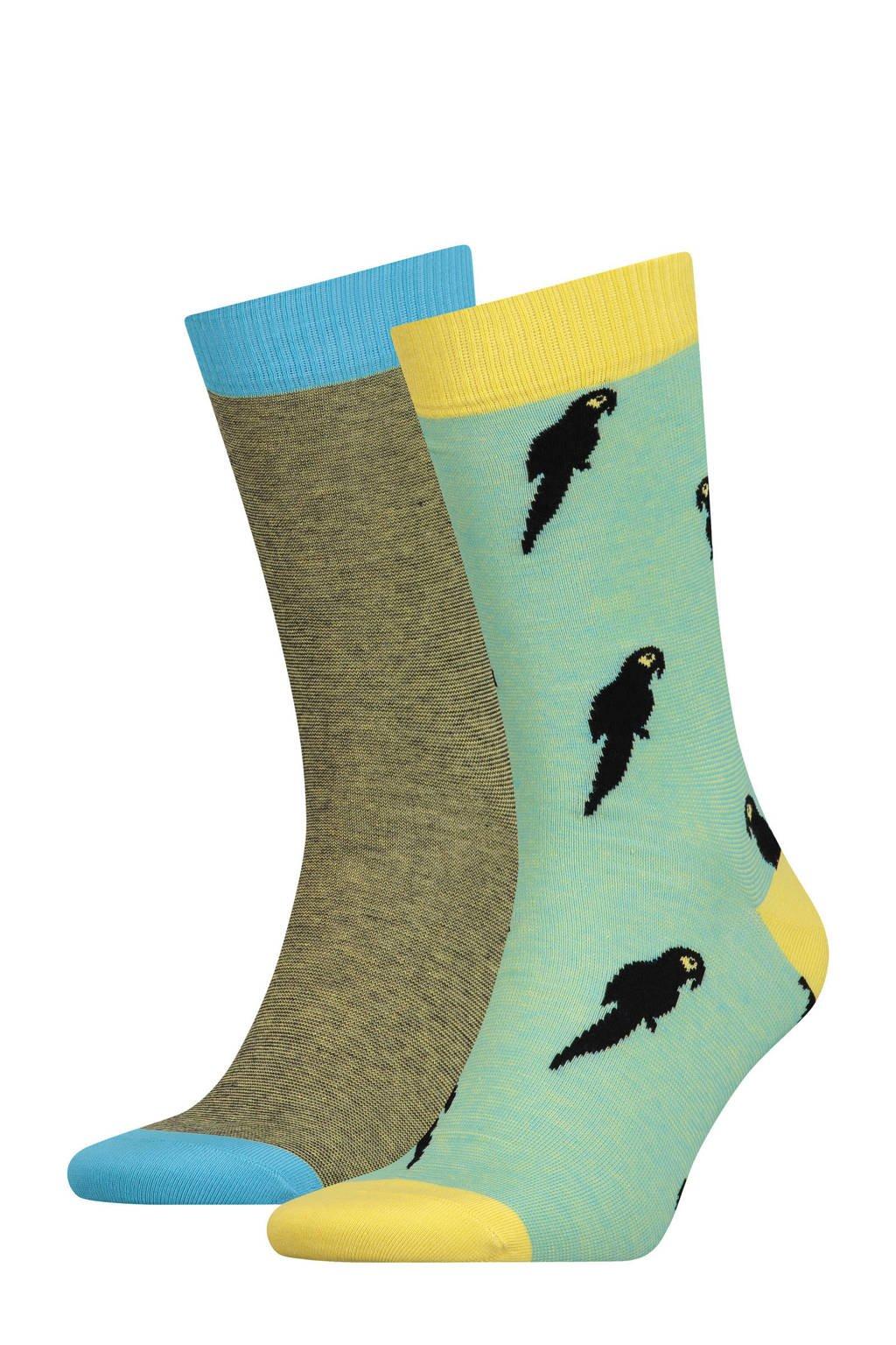 Levi's sokken (2 paar), Geel/groen