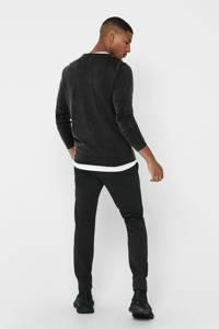 ONLY & SONS gemêleerde trui zwart, Zwart