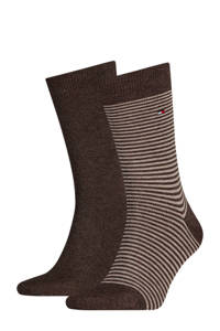 Tommy Hilfiger sokken ( set van 2), Grijs/wit