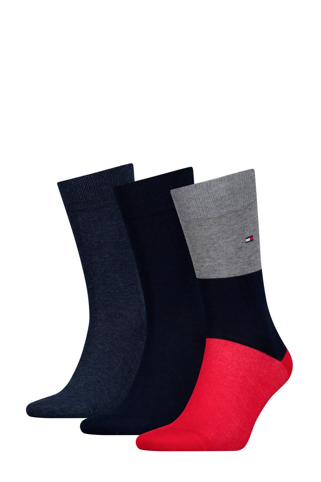 Tommy Hilfiger sokken set van 3, Blauw
