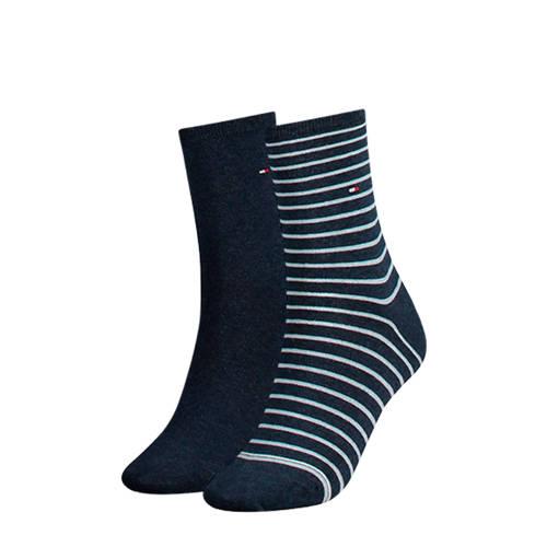 Tommy Hilfiger sokken (set van 2) blauw kopen
