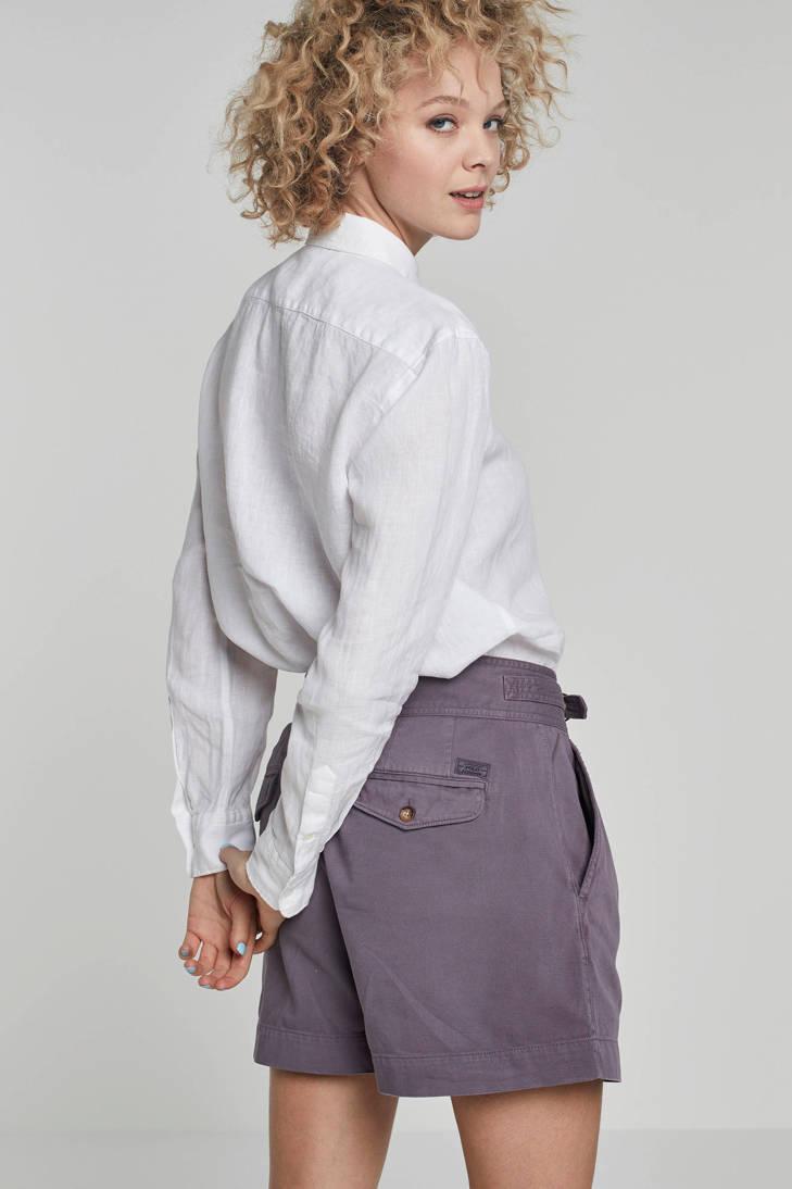 Ralph POLO POLO linnen Ralph blouse Lauren qTfRznBwx