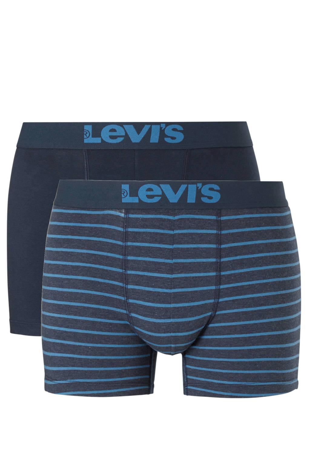 Levi's boxershort (set van 2), Zwart