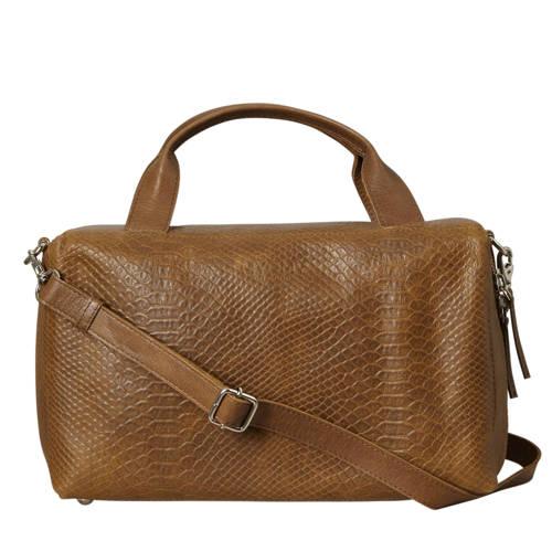 MYOMY-Handtassen-My Boxy Bag Workbag-Bruin