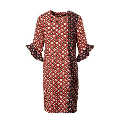 C&A YSS Shop jurk met all over print brique