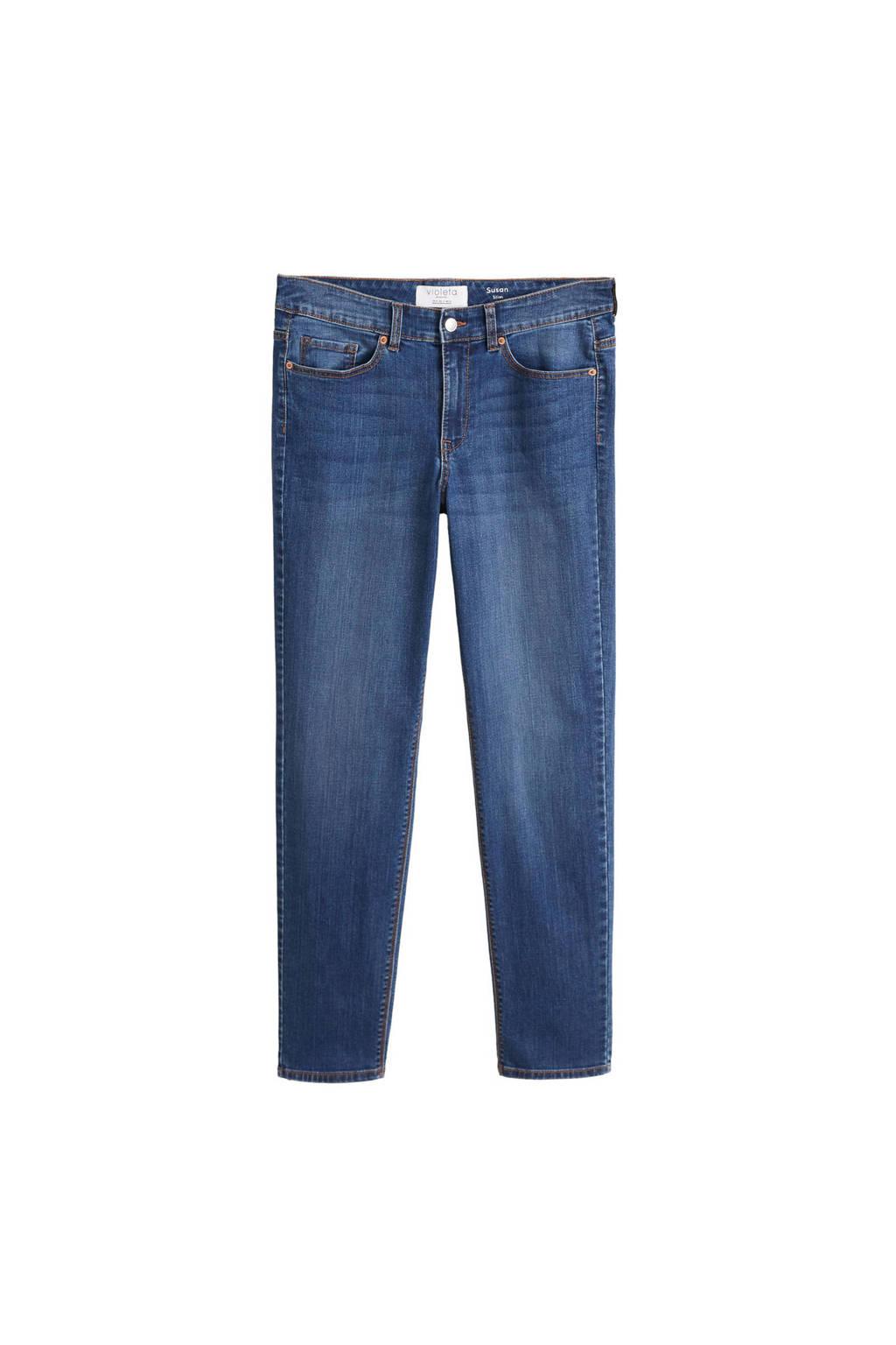 Violeta by Mango jeans, Blauw