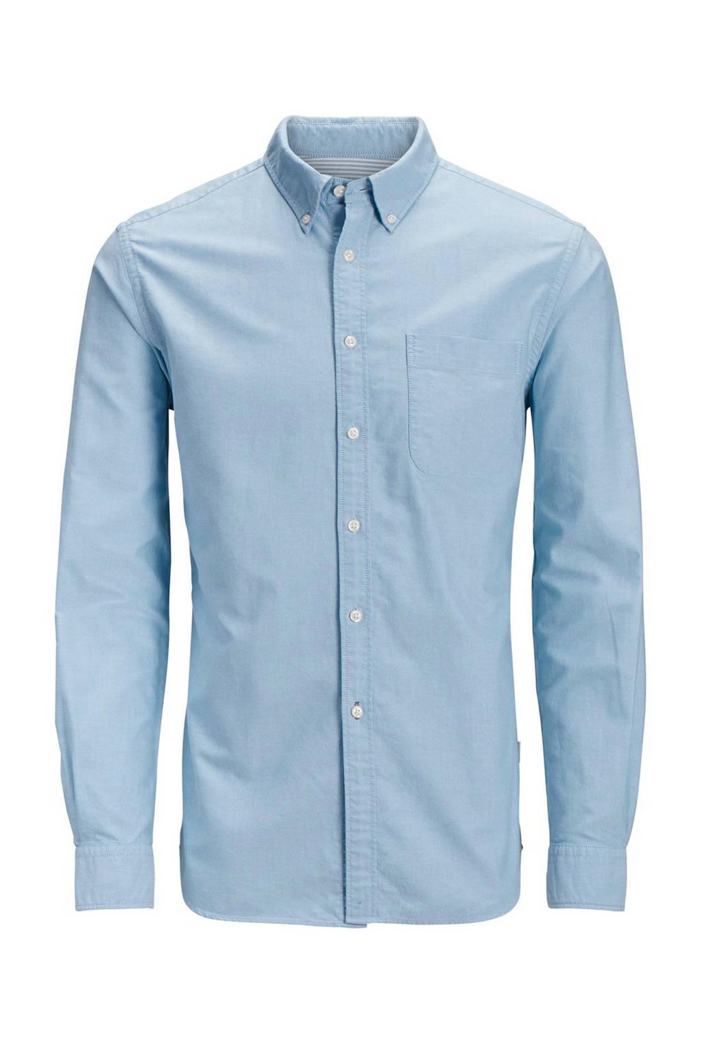 Jack & Jones Junior overhemd Oxford lichtblauw, Lichtblauw
