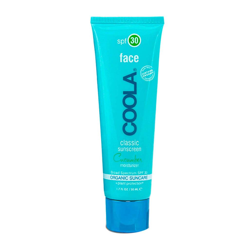 Coola Face Classic SPF30 Cucumber zonnebrandcrème - 50ml