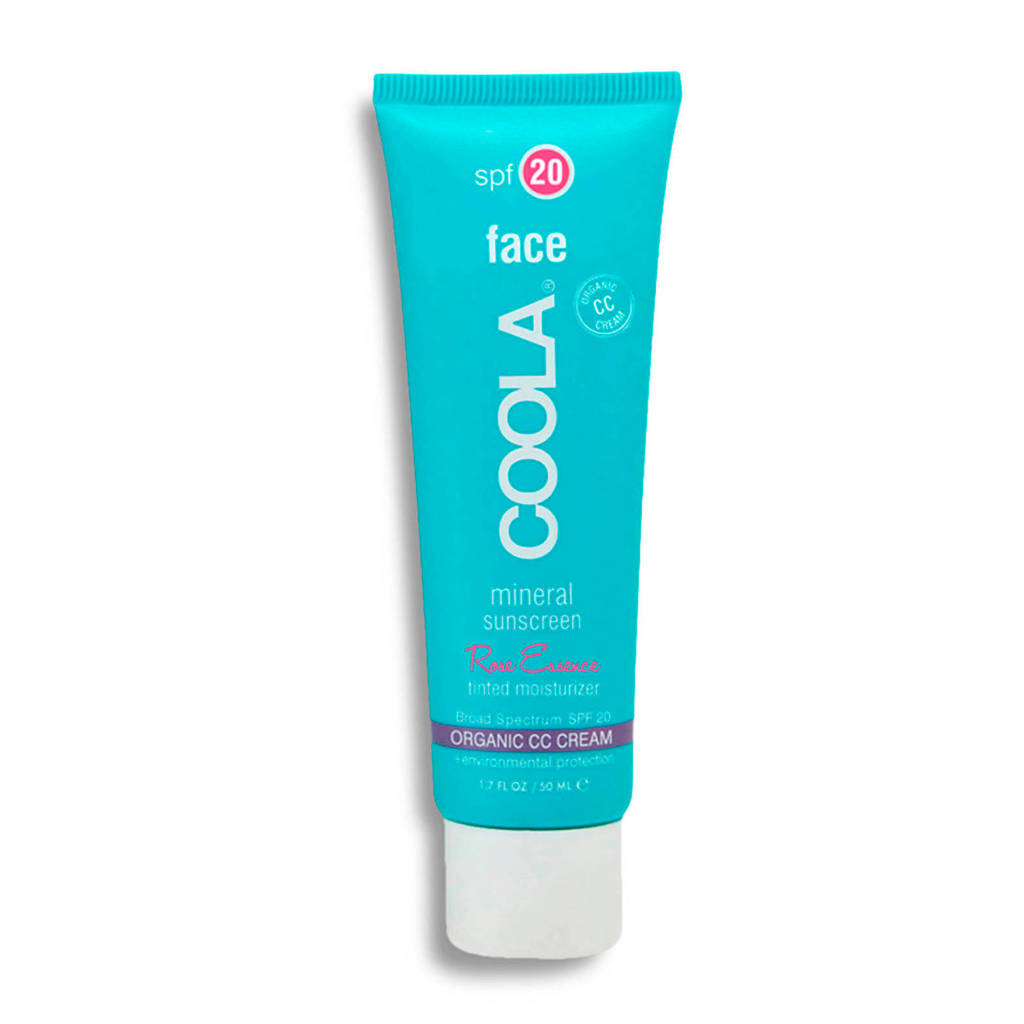 Coola Face Mineral Tinted Rose SPF20 zonnebrandcrème - 50ml