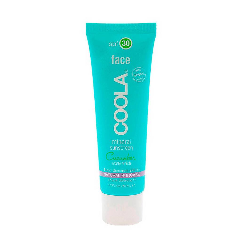 Coola Face Mineral Matte SPF30 Cucumber zonnebrandcrème - 50ml