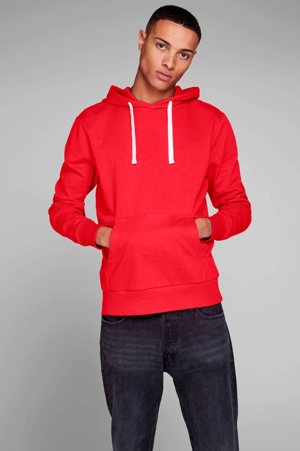 JACK & JONES ESSENTIALS hoodie rood, Rood