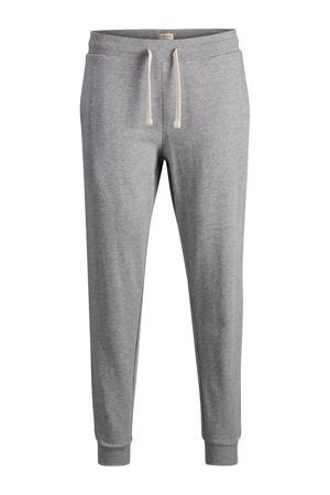 tapered fit joggingbroek grijs