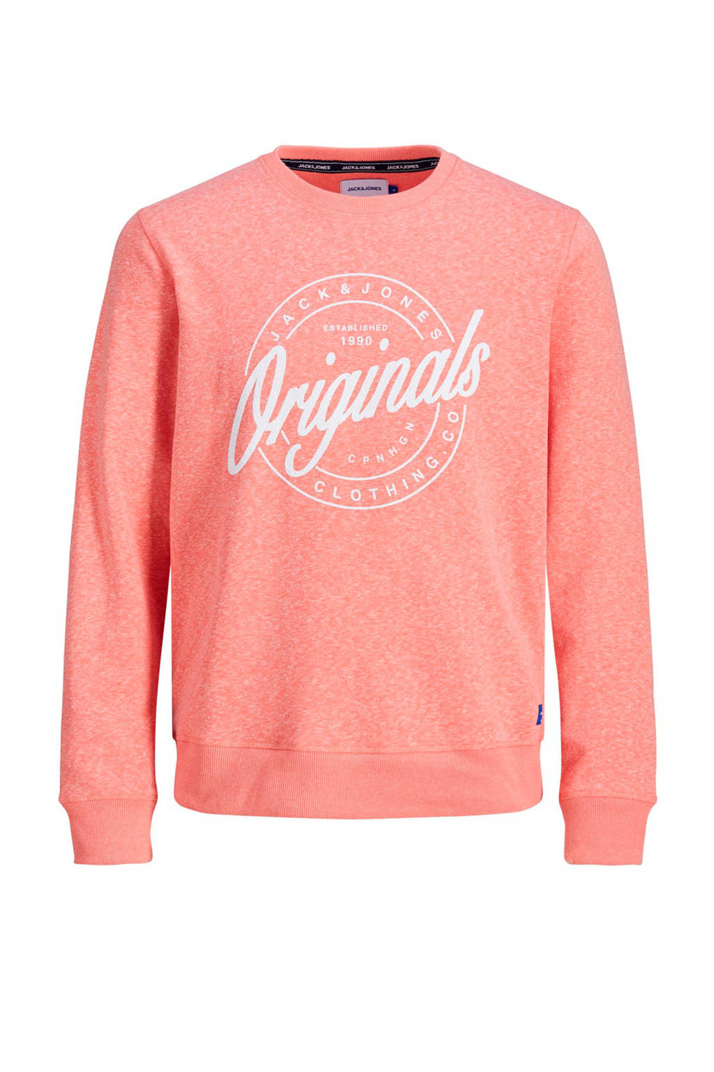 Jack & Jones Originals trui roze, Roze
