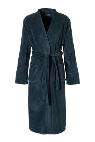 badjas blauw