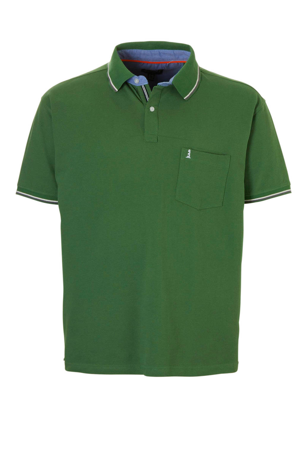 North 56°4 +size polo, Groen