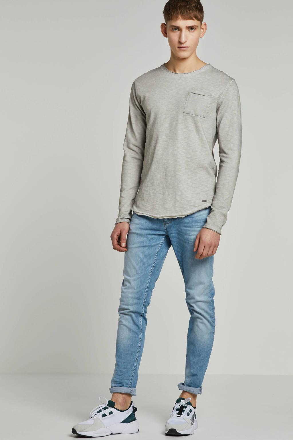 Purewhite skinny jeans The Jone, Light denim