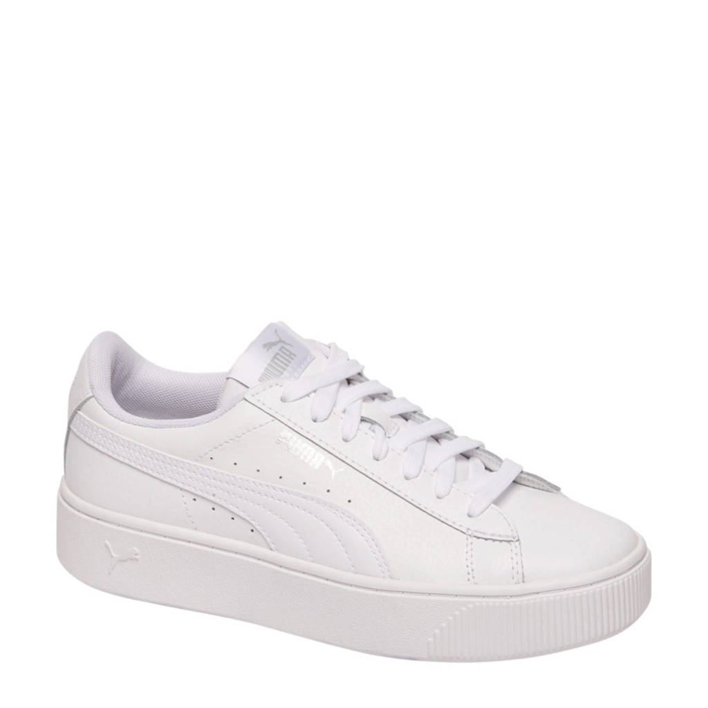 Puma  Vikky Stacked L sneakers wit, Wit