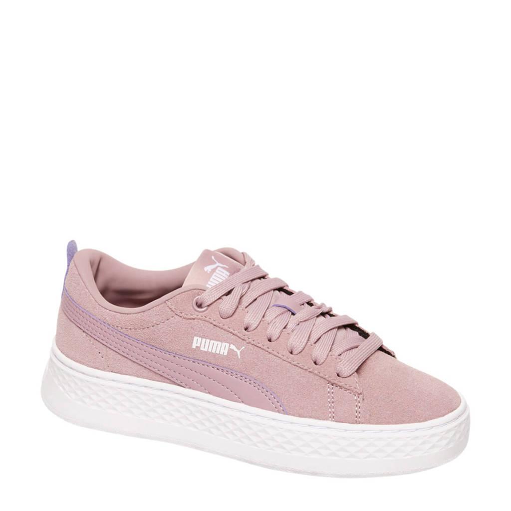 7bba15d82c6 Puma Smash Platform SD sneakers roze | wehkamp