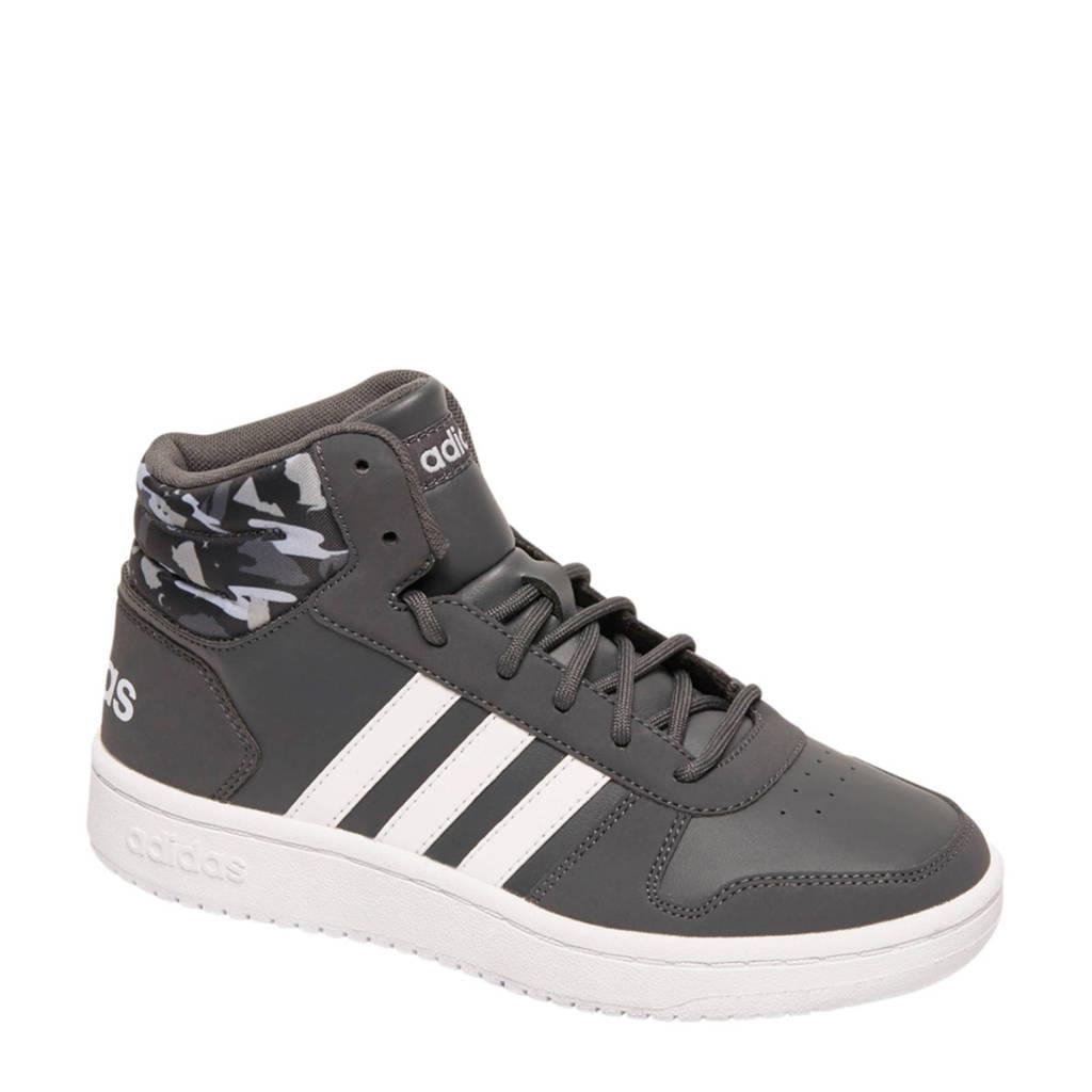adidas   Hoops 2.0 sneakers zwart/wit, Grijs