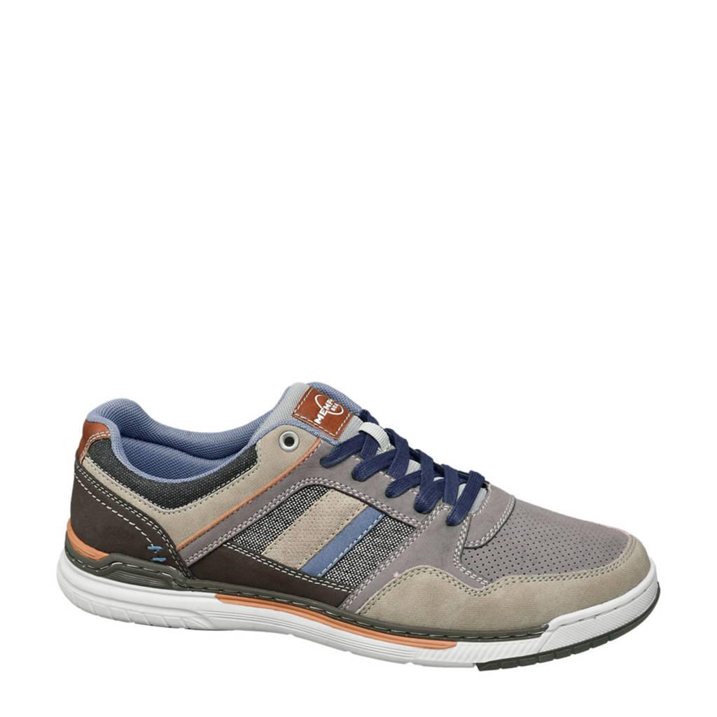vanHaren Memphis One   sneakers grijs, Grijs/blauw