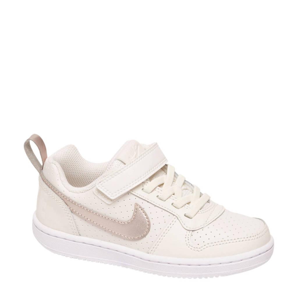 Nike  Court Borough sneakers, tabak/beige/rood/beige