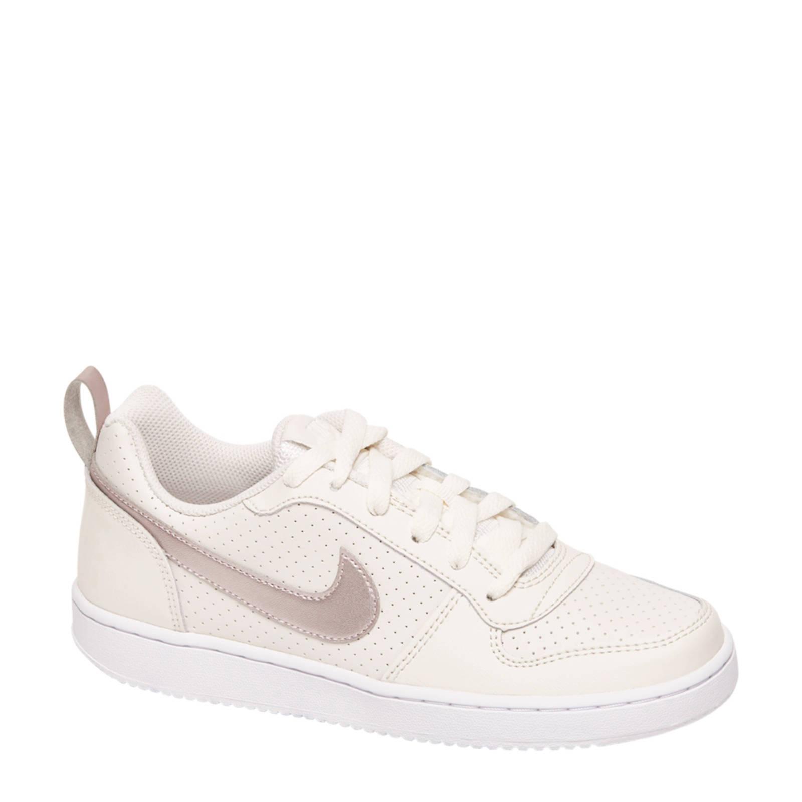 Nike Court Borough beige | wehkamp