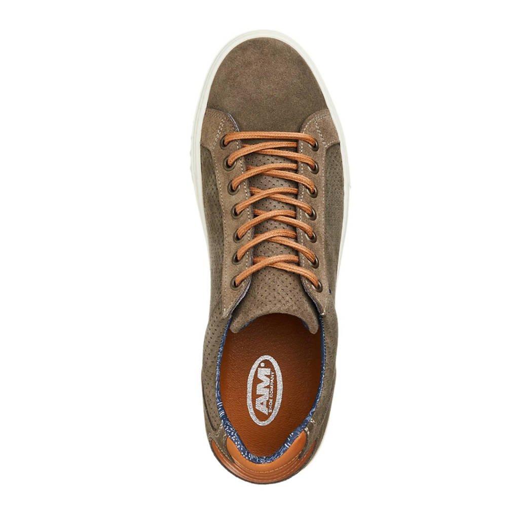 Bruin Vanharen Shoe Suède Am Sneakers wpqUcI