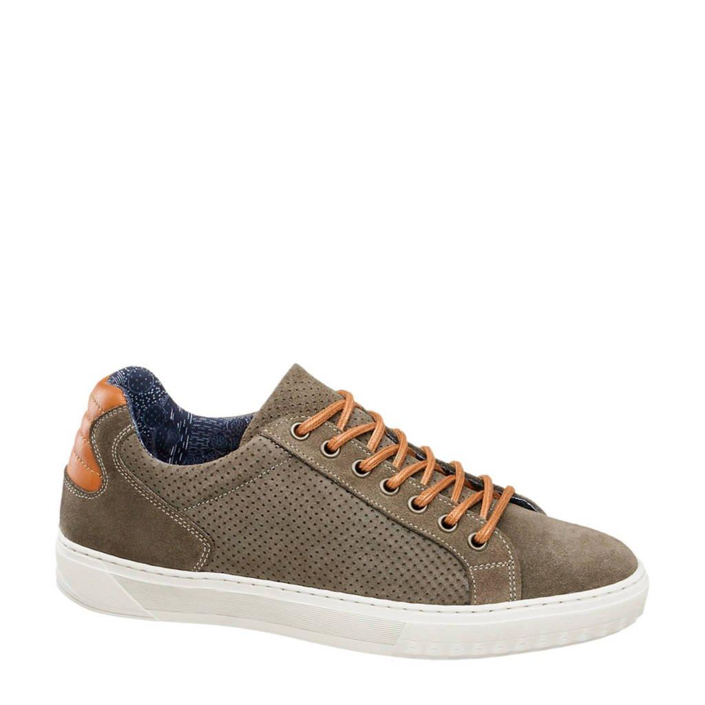 Suède Shoe Vanharen Sneakers Bruin Am Eq4gZAwHxA