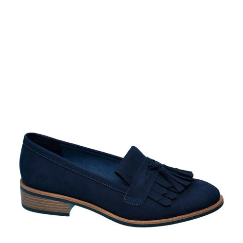 vanHaren Graceland loafers donkerblauw