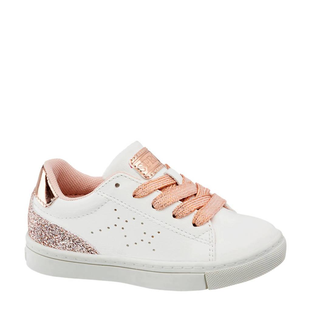 vanHaren Cupcake Couture  sneakers wit/roze, Wit