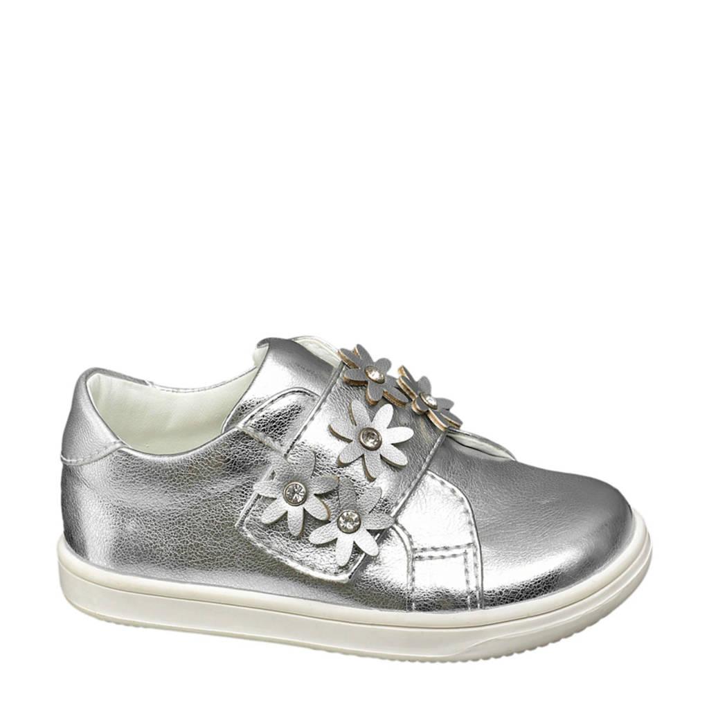 vanHaren Cupcake Couture  sneakers met sierstenen zilver, Zilver