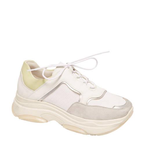 vanHaren Graceland chunky dad sneakers wit kopen