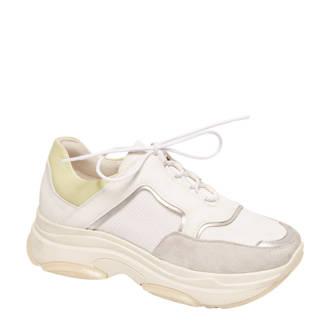 vanHaren Graceland  chunky dad sneakers wit