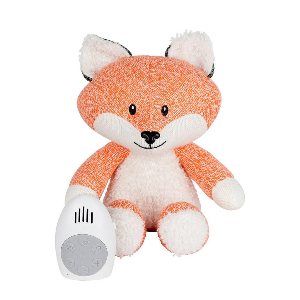 Flow Amsterdam Robin de vos hartslag interactieve knuffel, Oranje