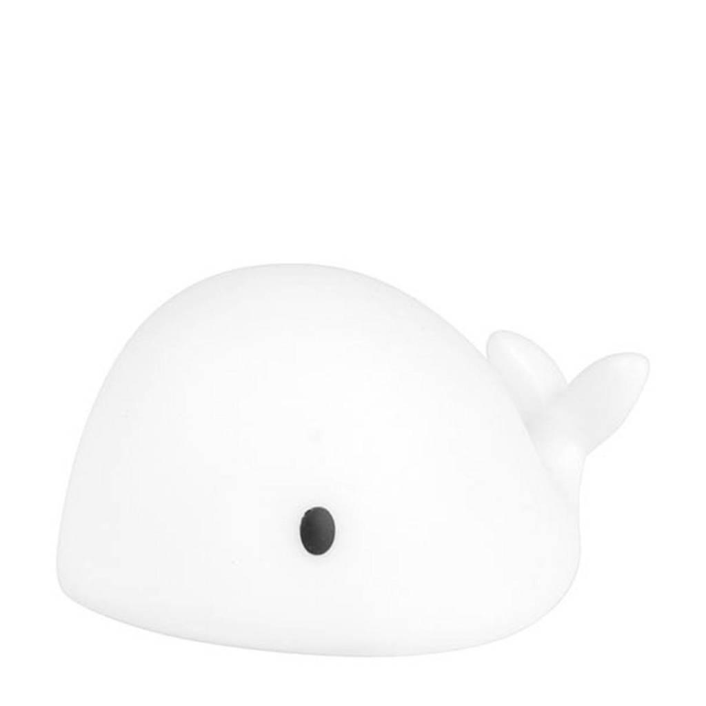 Flow Amsterdam nachtlampje Moby mini wit (7,5 cm), Wit