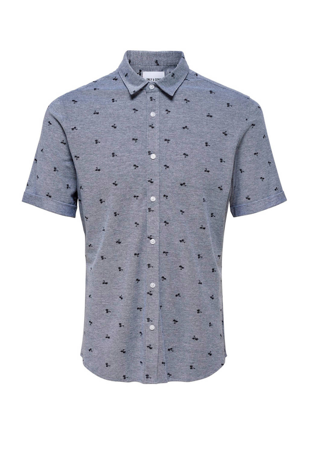 Only & Sons overhemd, Blauw