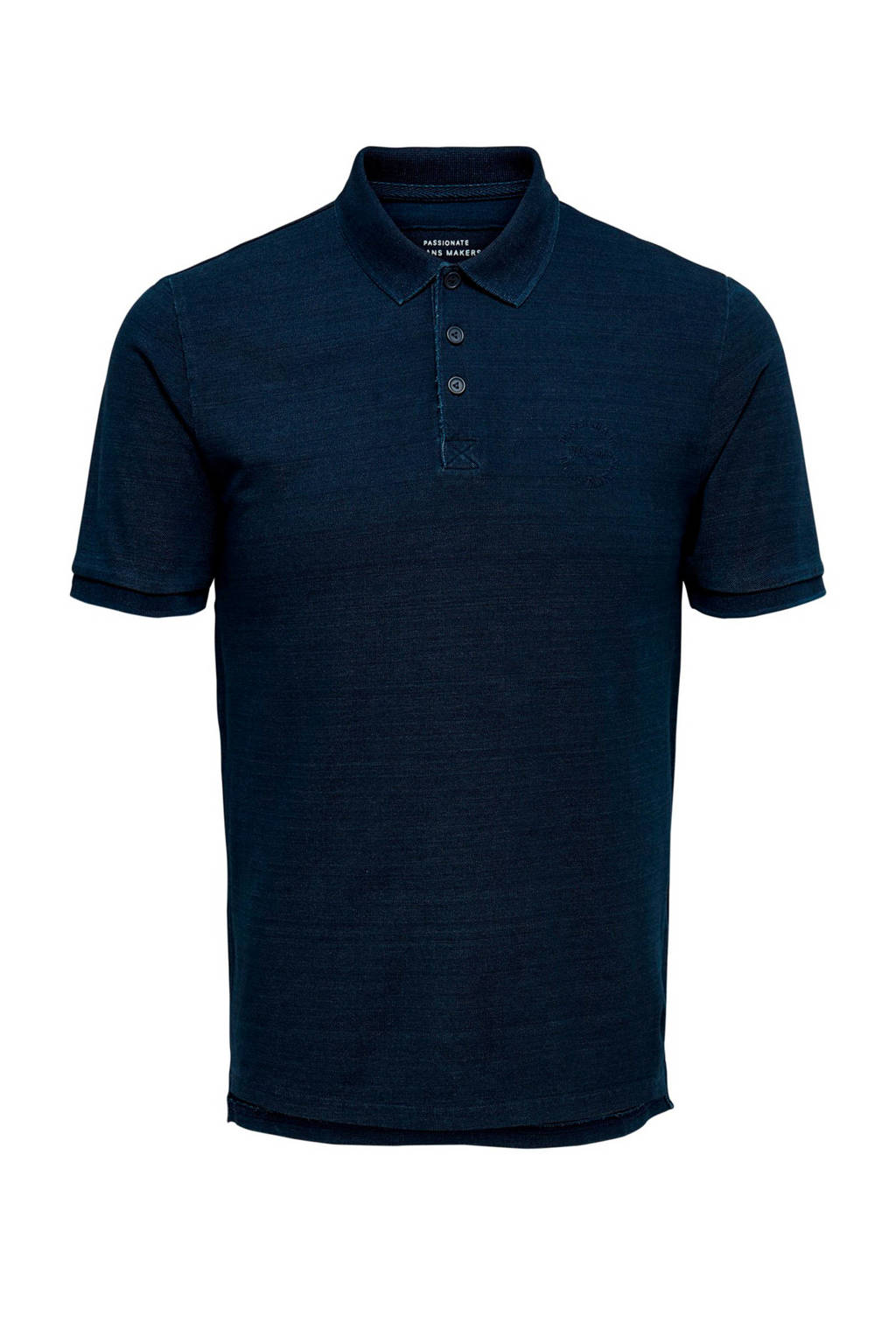 Only & Sons polo donkerblauw, Donkerblauw