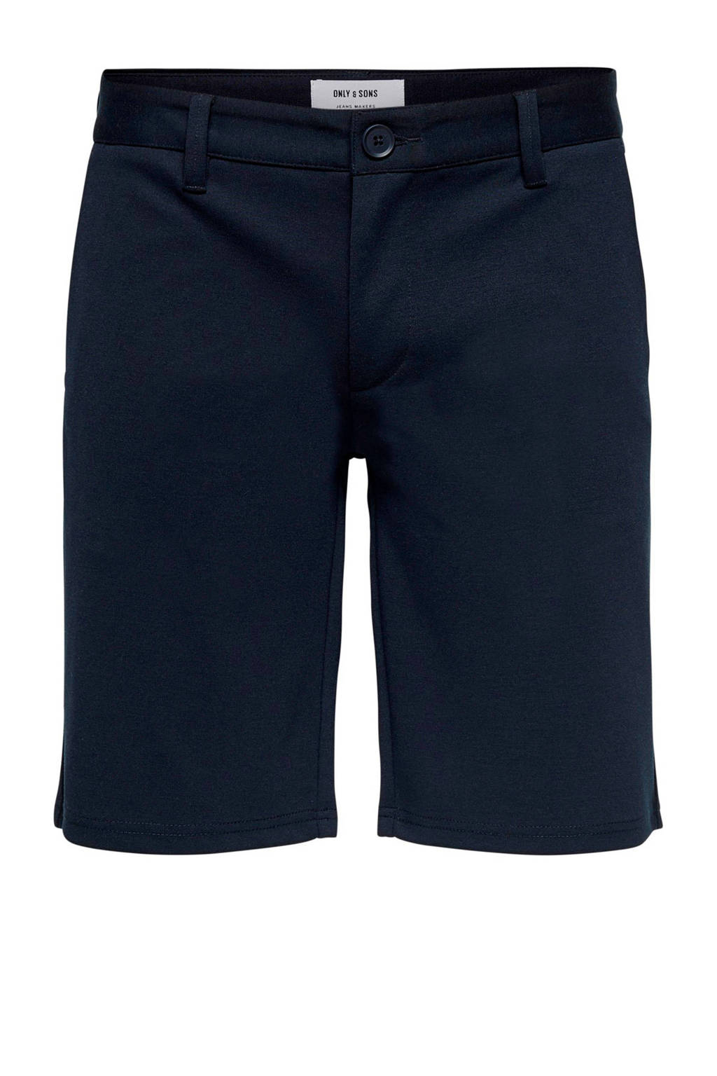 Only & Sons sweat bermuda, Donkerblauw