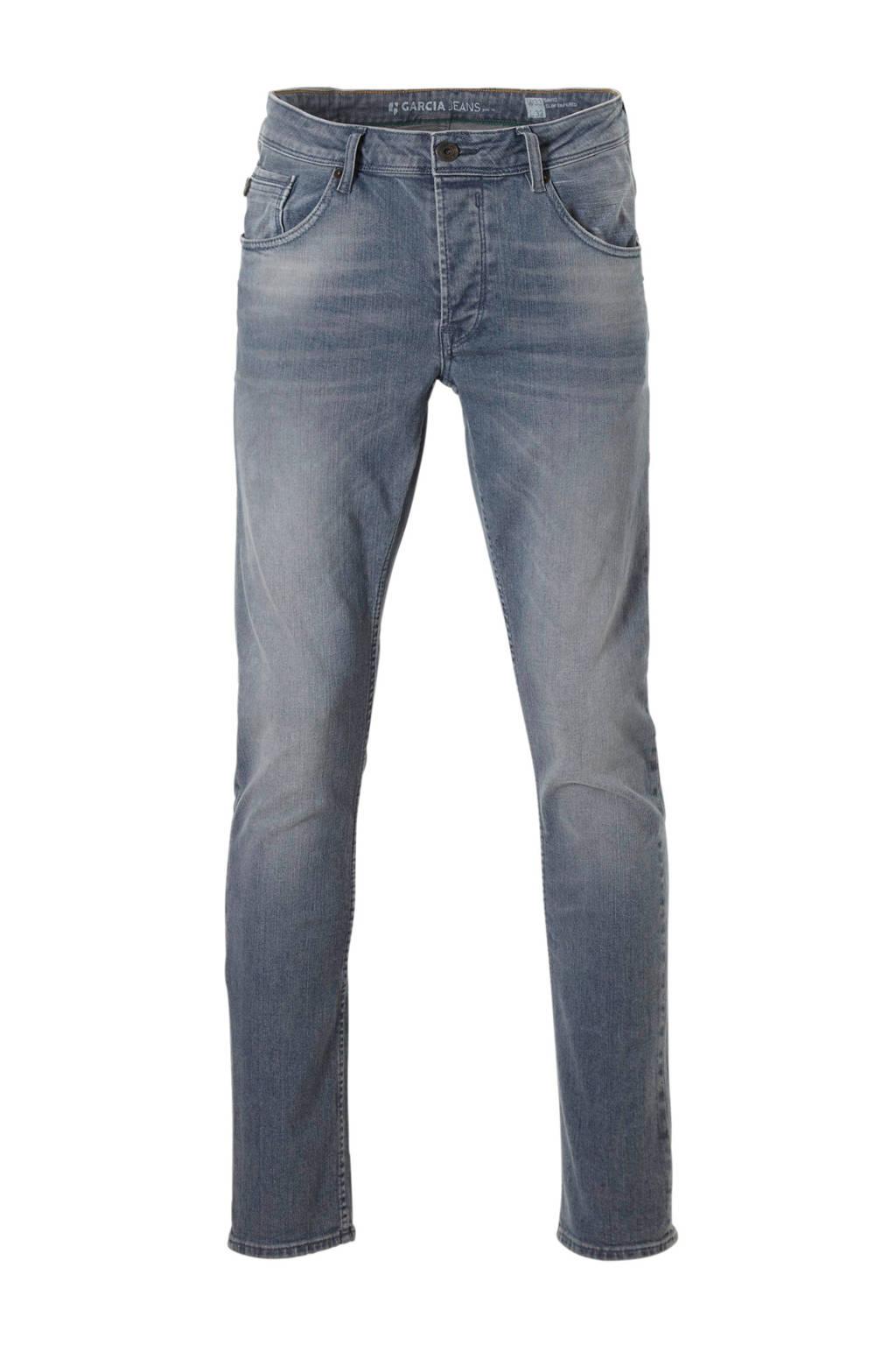 Garcia  slim slim fit jeans, Lichtblauw