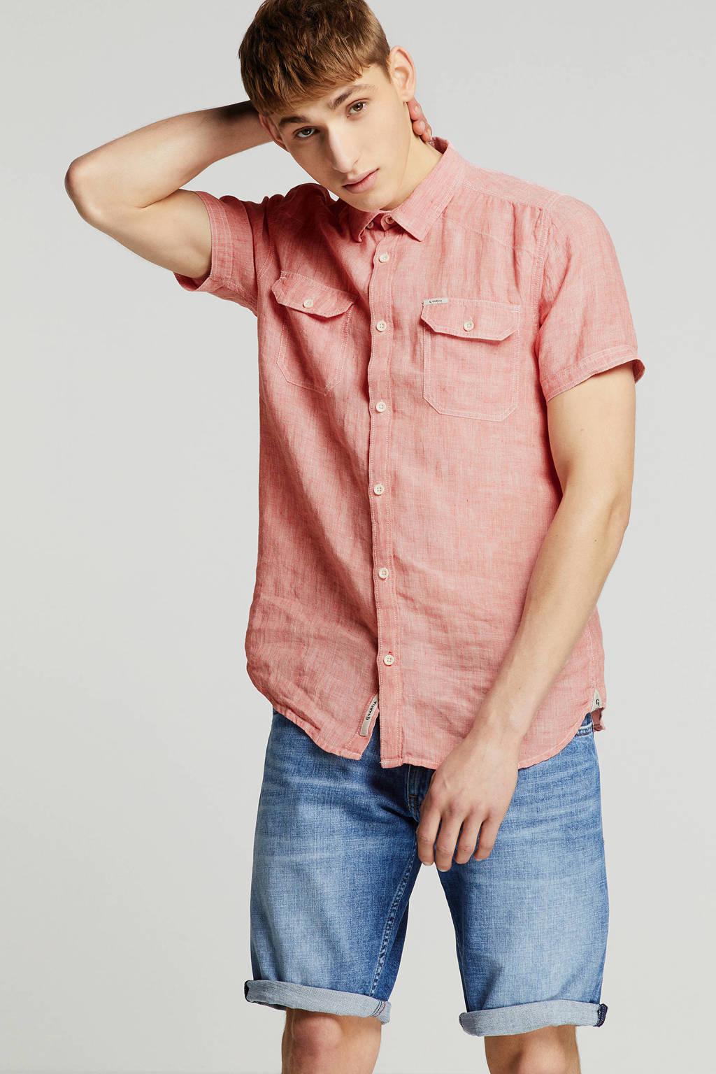 Garcia linnen overhemd, Roze