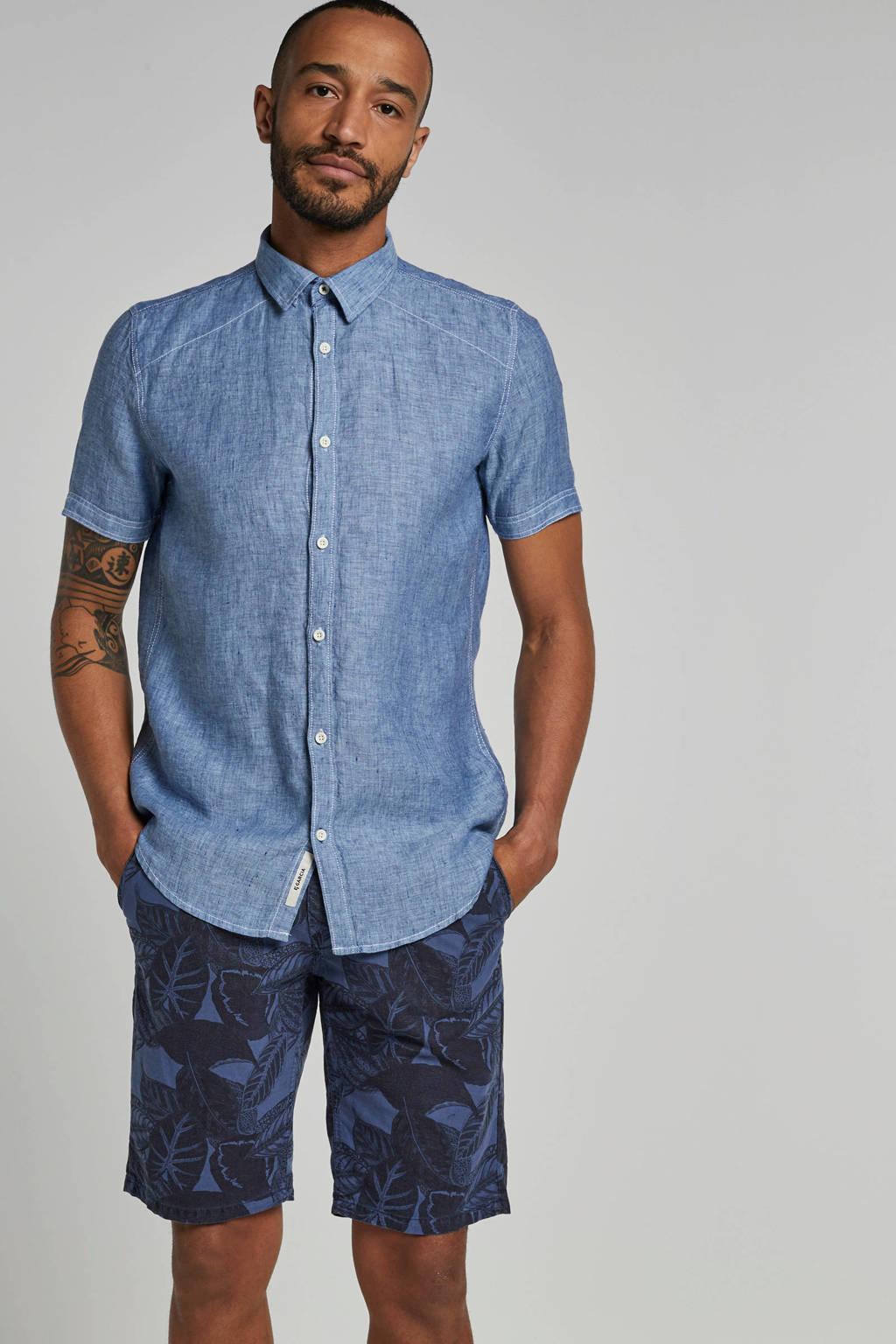 Garcia linnen overhemd, Blauw